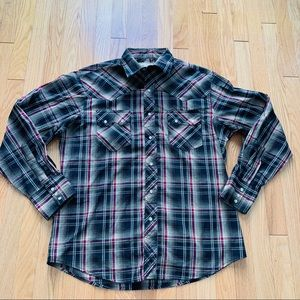 Wrangler Western Fashion Snap Shirt